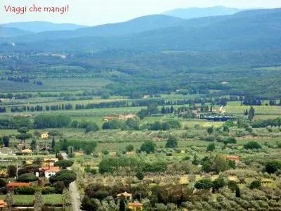 Panorama, Castagneto Carducci.