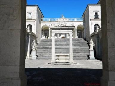 Scorcio dell'abbazia di montecassino, una delle cose da visitare assolutamente nei dintorni di gaeta.