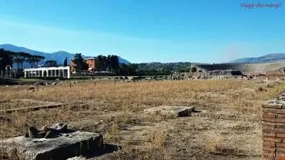 sito archeologico di minturnae: una delle cose da fare nei dintorni di gaeta.