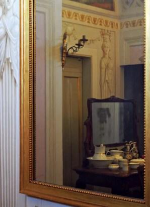 Il bagno della Villa Poggio a Caiano, una delle cose da vedere nel Chianti fiorentino.
