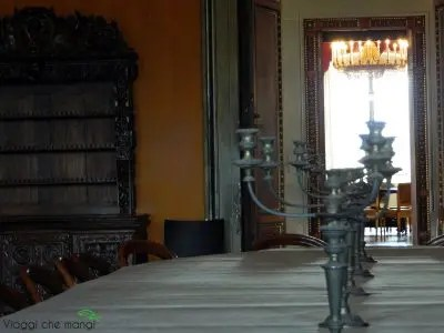 Villa Poggio a Caiano, sala da pranzo.