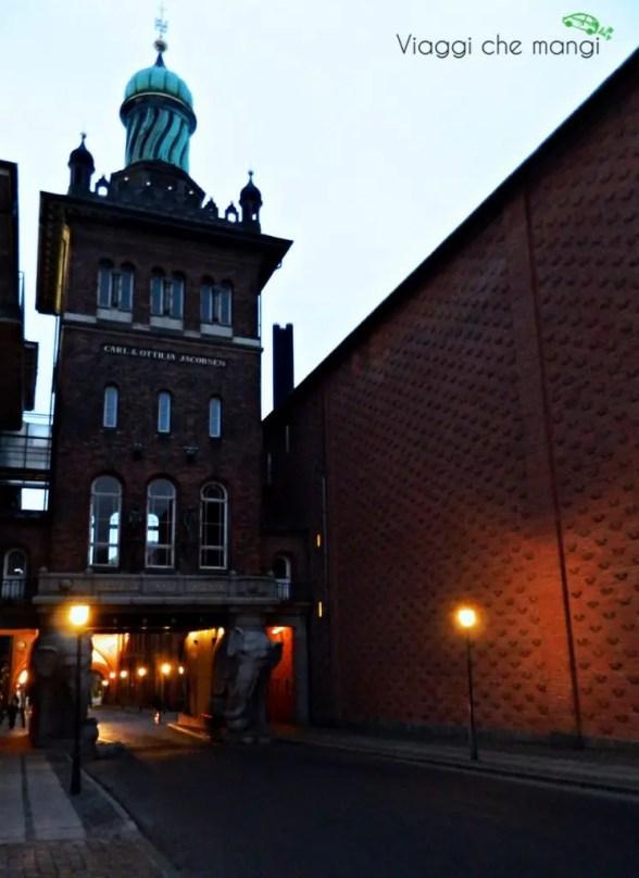 Ingresso della fabbrica della Carlsberg, Copenaghen