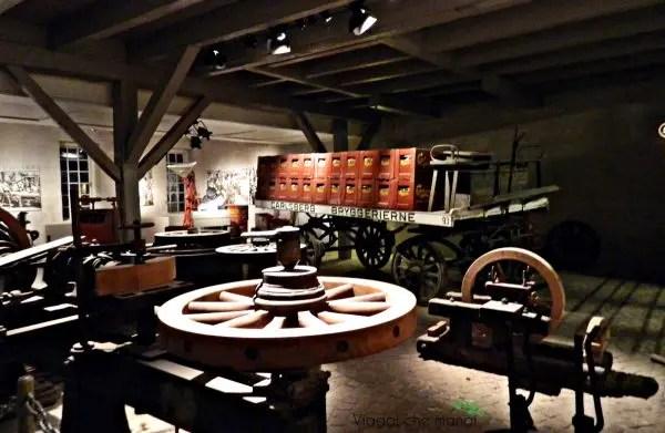 Carrozze per il trasporto della birra di Natale, fabbrica della Carlsberg, Copenaghen