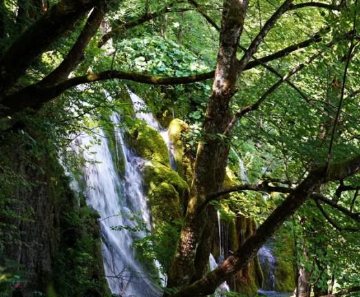 cascata dei Laghi di Plitvice, in Croazia.
