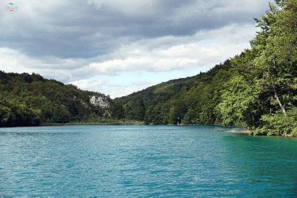Laghi di Plitvice dal battello.