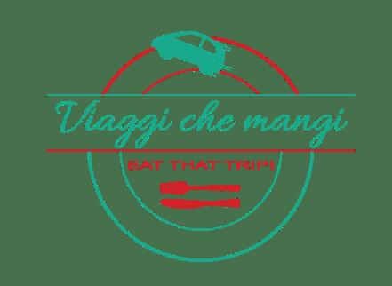 logo trasparente di viaggi che mangi, il travel blog di selene scinicariello.