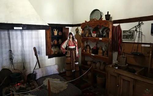 cucina Museo Etnografico, Krujë città da visitare in Albania.