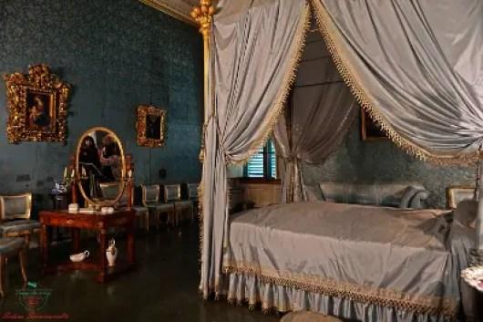 """Camera da letto della """"Bella Rosina"""", Villa Medicea La Petraia"""