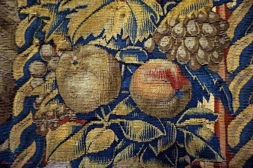 Dettaglio arazzo, Villa del Principe, Genova per i dipinti autunnali