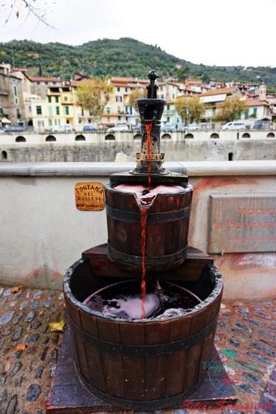 fontana di rossese a dolceacqua, uno dei borghi liguri da visitare
