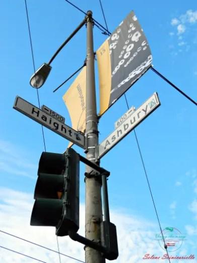 cartello Haight e Ashbury Street, San Francisco, una delle mete consigliate mete per il 2018