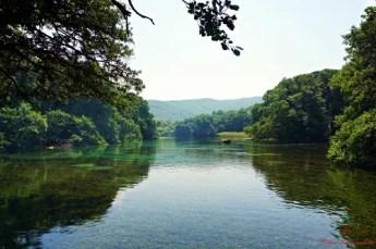 cosa fare sul lago di ohrid: visitare le sorgenti del fiume crn drim