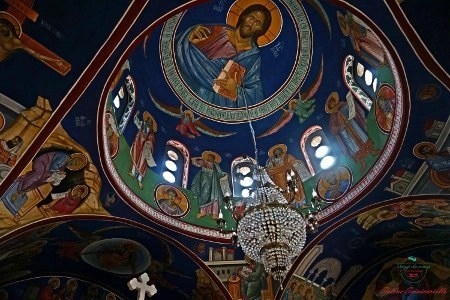 cosa fare sul lago di ohrid: andare al monastero di sveti naum per vederne gli affreschi