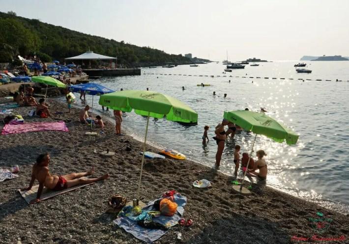 spiagge del montenegro: Mirišta Beach.