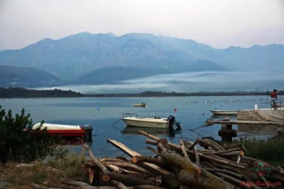 spiagge del montenegro: scorci della penisola di lustica.