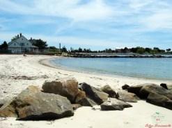 Eastern Point Beach, Groton, CT.