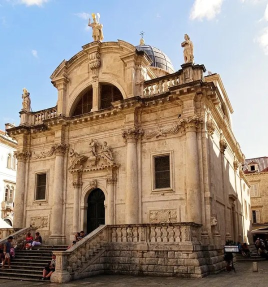 cosa vedere a dubrovnik: la chiesa di san biagio