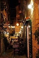 ristorantini nel centro storico di trogir.