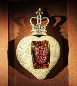 El Corazón Real è uno dei gioielli più belli del Museo Dalì di Figueres.