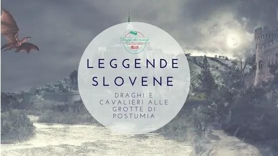 leggende slovene alle grotte di postumia. Immagine di copertina del blog post.