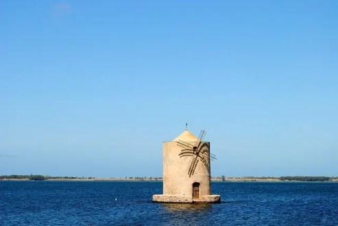 Laguna di Orbetello, zona dove è ambientato il film L'estate del mio primo bacio di Virzì.