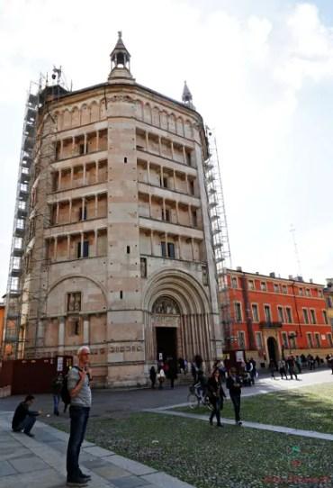 Il Battistero del Duomo è una delle cose da vedere a Parma.