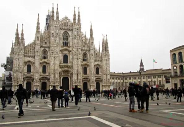 Il Duomo di Milano, città dove è ambientato parte dei Promessi Sposi di Manzoni.