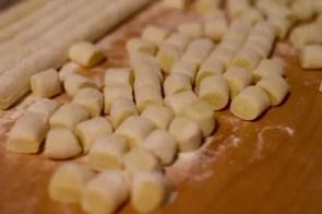 Gnocchi at Un posto italiano, an Italian store in Brooklyn