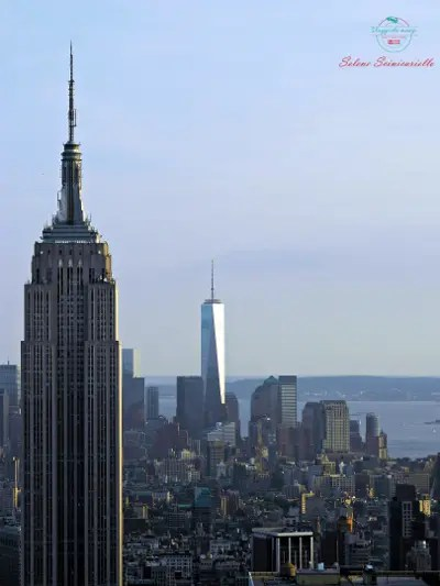 tra le 5 mete da brivido inserisco Manhattan e il panorama dal Top Of The Rock.