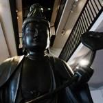 Statua conservata al Museo d'Arte Orientale Edoardo Chiossone, uno dei migliori musei di genova.