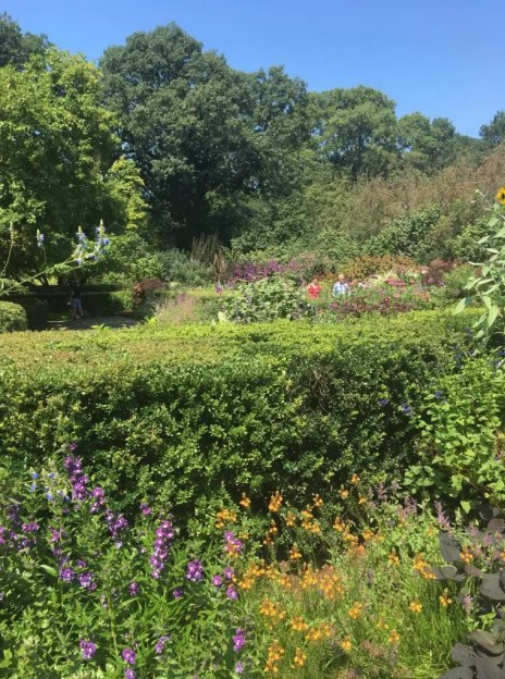 While visiting West Harlem, New York, you have to go to Conservatory Gardens.