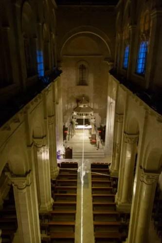 Luci e Suoni d'Artista in Cattedrale. © Cinzia Cantatore..