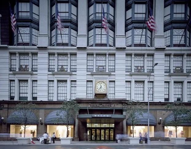 """Macy's: uno dei grandi magazzini di New York come quello del film di Natale """"Miracolo sulla 34 strada""""."""