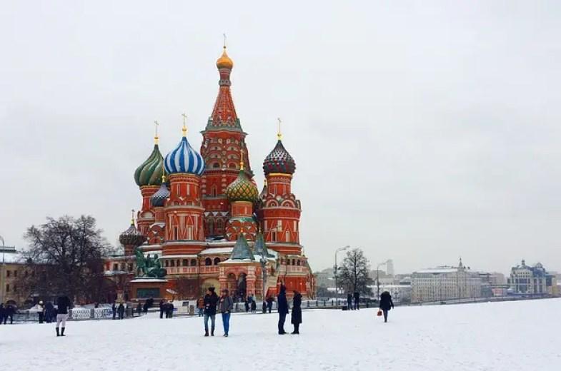 Mosca, una delle città in cui è ambientato Il Dottor Živago, uno di libri da leggere in inverno.