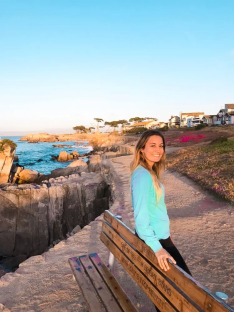 La pista ciclabile è una delle cose da non perdere per visitare Monterey in california © Pizza e Cookies