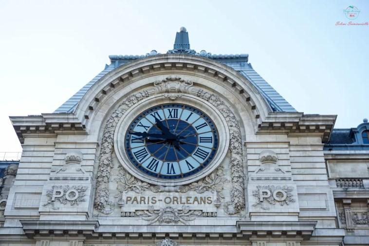 Orologio esterno del Museo d'Orsay.