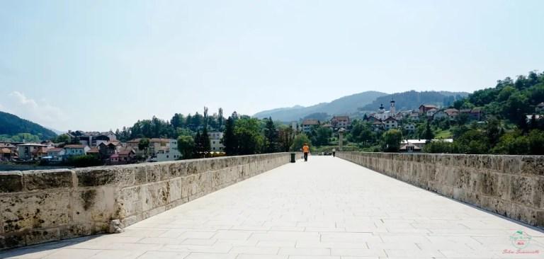 Il ponte di Višegrad è uno dei ponti bosniaci da non dimenticare.