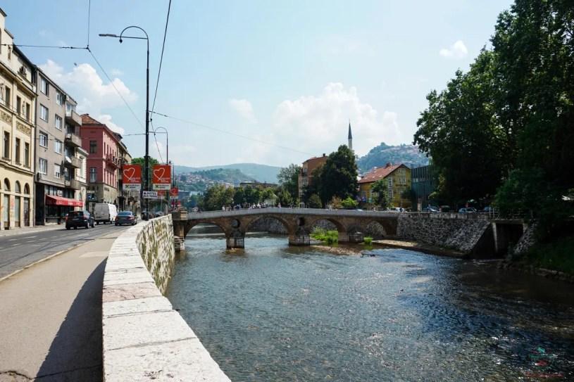 Il Ponte Latino di Sarajevo è uno dei ponti bosniaci più famosi.