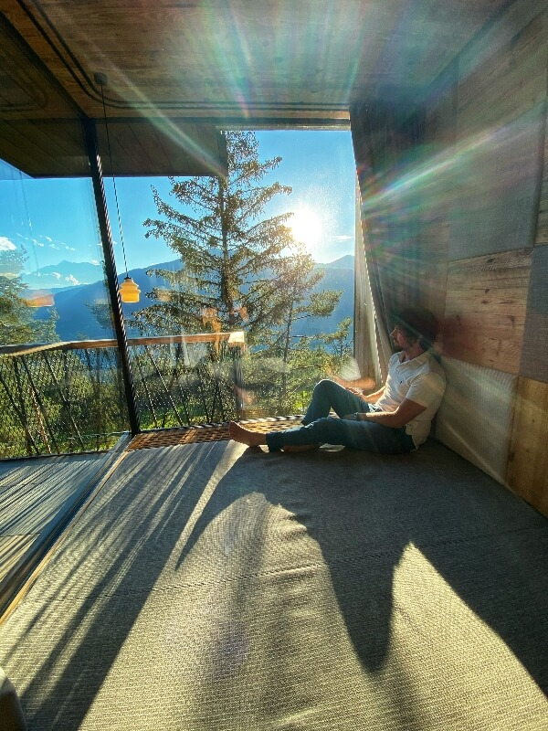 Hotel sugli alberi in Alto Adige: My Arbor.