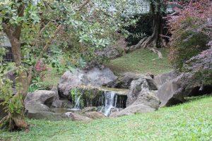 Cascata del giardino giapponese roma