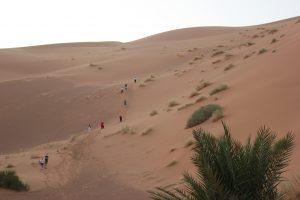 Scalare una duna alta oltre 200 metri