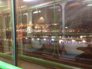 Il Castello di Buda visto dal tram numero 2