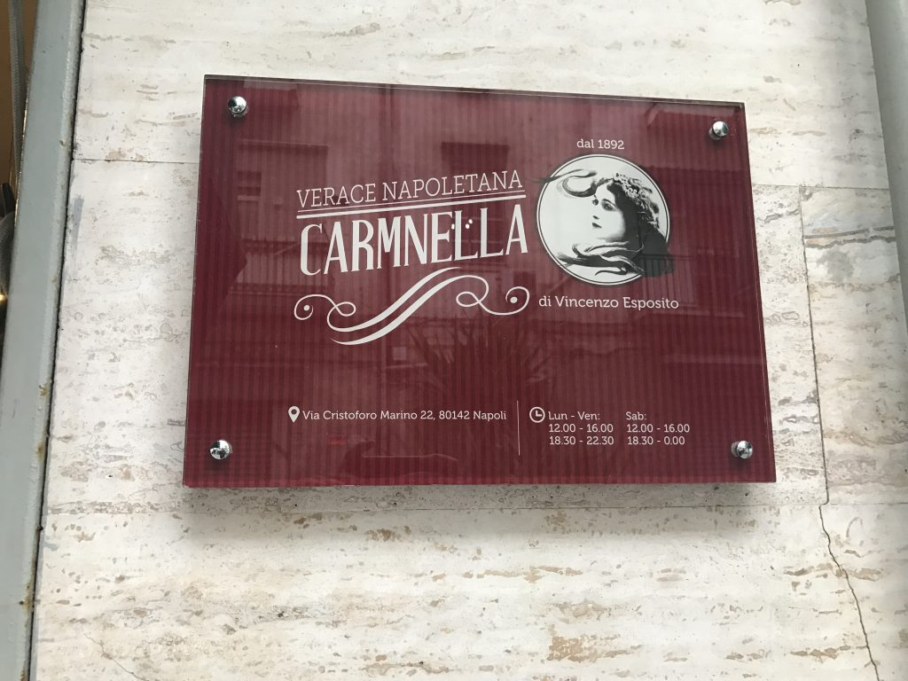Pizzeria Carmnella, Napoli