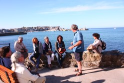 St Ives con Tony Farrell