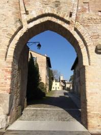 Entrance to Cordovado Castle