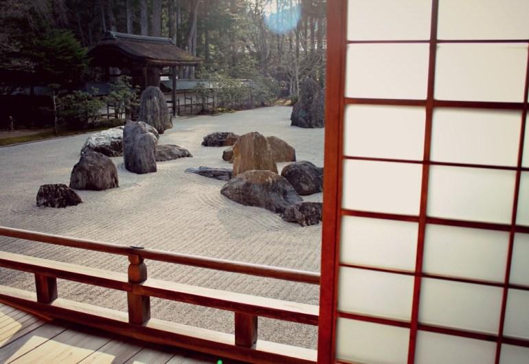 Giardino Zen, Giappone