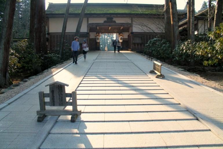 kongobu-ji-tramonto