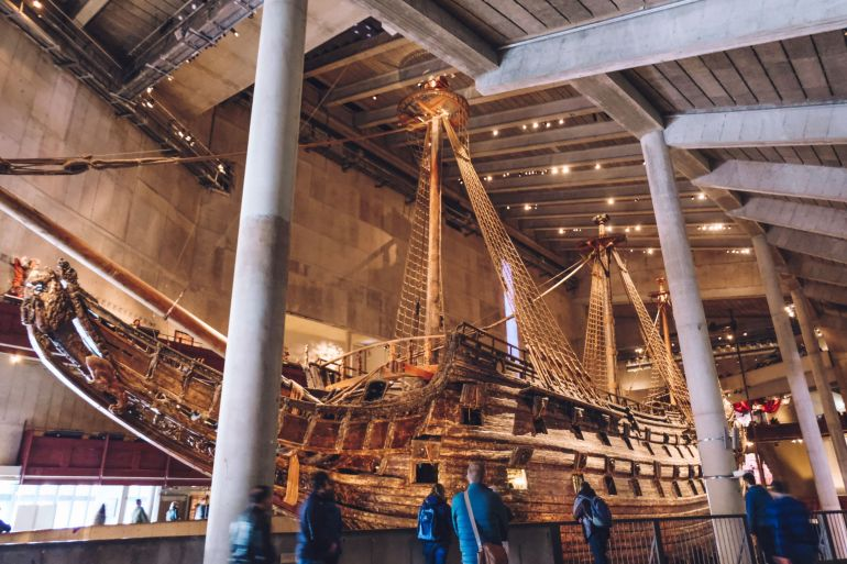 Museo Vasa di Stoccolma, in Svezia