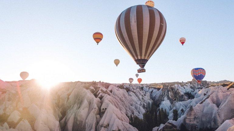 Cappadocia in mongolfiera - Turchia