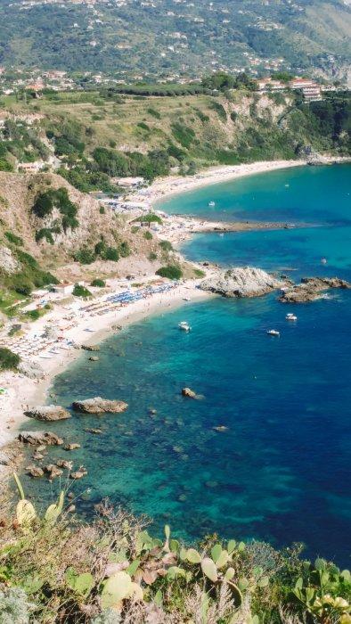 Baie Grotticelle - Calabria